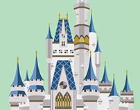 Cinderella Castle | Illustration