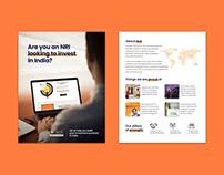 NRI Brochure Design - SLA Finserv