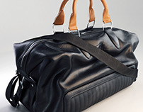 Ralph Lauren Leather Duffel Bag