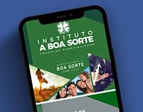 Social Media | Instituto A Boa Sorte