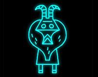 neon tribal