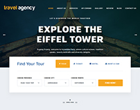 Travel Agency - Tour & Travel Hotel Booking HTML Templa