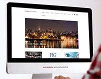 Murray Advogados   Website