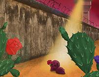 """""""Un Muro Nos Vigila"""""""
