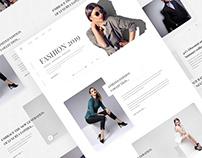 Fashion Website Exploration
