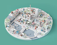 Google CES Diorama