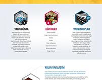 Yalın Enstitü Corporate Website, 2014