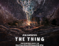 The Thing Artbook - PrintedInBlood