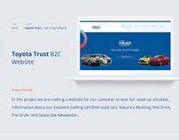 Toyota Trust B2C Website - Astra International