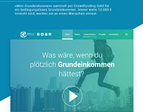 Mein Grundeinkommen Website Redesign