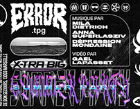ERROR.TPG / X-TRA BIG SUMMER PARTY