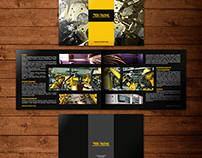DS-Technic - brochure and briefcase