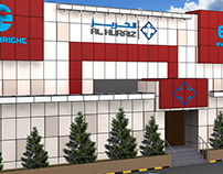 Al Huraiz ACP Cladding Design