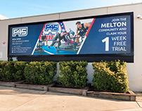 F45 Training Billboard Design