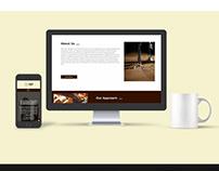 JSF Goa: Website UI design