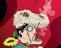TRANNOSAURO - illustration