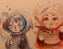 Rough 2 minute doodles