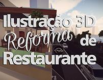 Projeto de Reforma Restaurante 🍴 TI MARIA SV