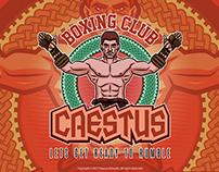 Caestus Boxing Club Emblem Logo