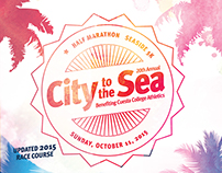 City to the Sea 2015 Race Poster