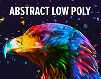 Abstract Low Poly Photoshop Action
