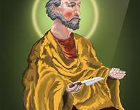 Saint Bartholomew the Apostle Illustration