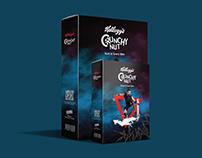 Kellogg's Crunchy Nut Corn Flakes box re-design