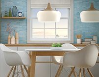 Beko - CG Visualization Project - Kitchen Concept