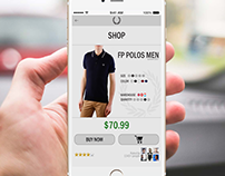 Mobile App Store | Fred Perry Design