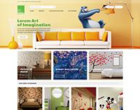 My wall design : A custom wall design