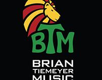 Brian Tiemeyer Music logo design