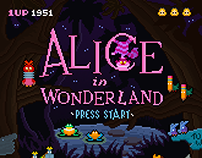 8-bit Alice in Wonderland