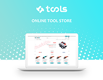 Online tools store redesign