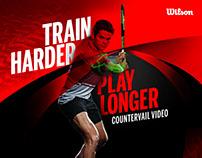Wilson Train Harder Play Longer Videos