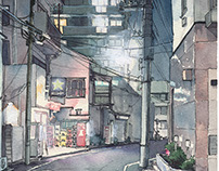 """""""Tokyo at Night"""" #03"""