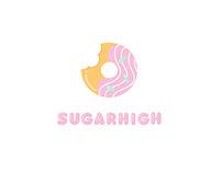 Sugarhigh Logo Redesign