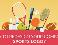 How to Redesign Your Company's Sports Logo?