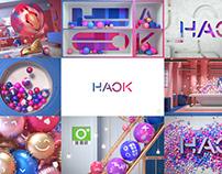 HAOK TV Idents - Taiwan Channel Branding