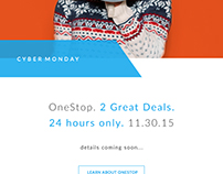 2015 Cyber Monday Email Campaign