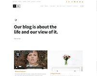 Home News Page - Ink WordPress Theme