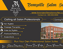 Sign Board For Salon Suites Rental Business