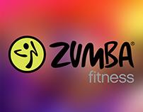 Zumba fitness Afiş çalışması