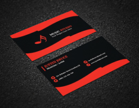 Music Themed Business Card