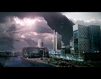 Manchester futuristic design
