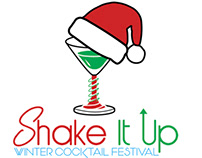 Shake It Up Winter Cocktail Festival Logo