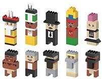 Brick Characters