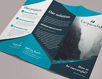 Business Trifold Brochure Vol. IV