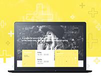 Modern Church Website