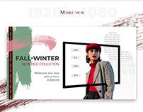 Online shop Facebook banner