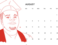 UNARMED Calendar
